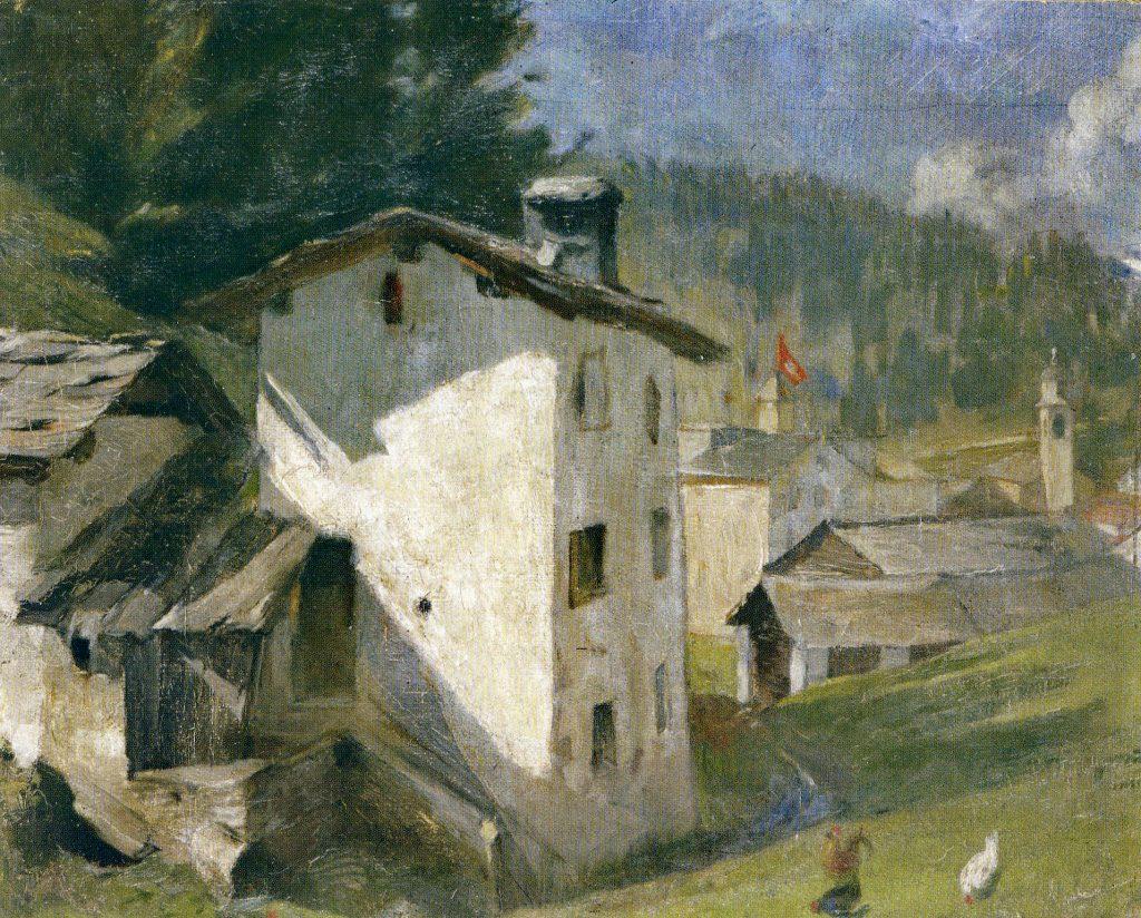 Mulin Vegl (alte Mühle) in Sils Maria