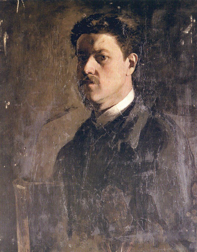 Spätes Selbstporträt, um 1897